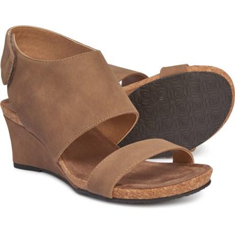 60944396e5 Adrienne Vittadini Trevin Wedge Sandals (For Women) in Partridge