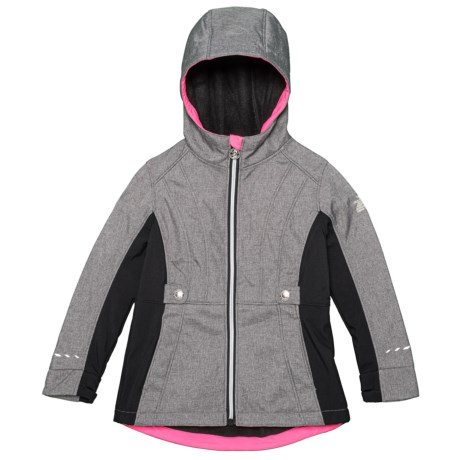 Image of Adrina Soft Shell Jacket (For Little Girls)