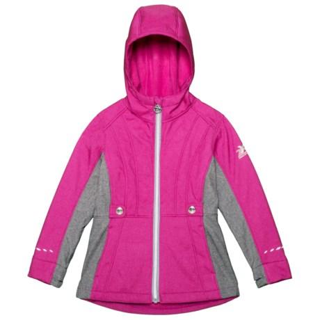Adrina Soft Shell Jacket (For Little Girls)