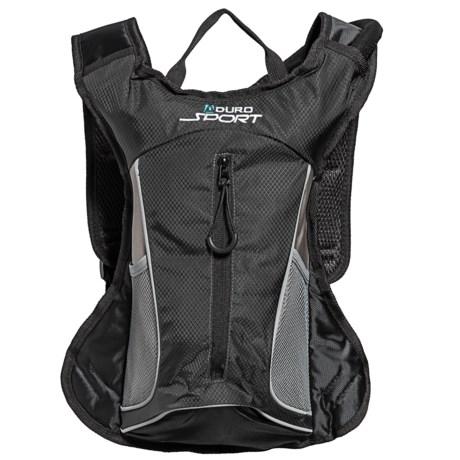 Aduro Sport Hydropro Hydration Pack - 1.5L, BPA-Free in Black
