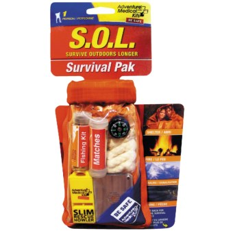 Adventure Medical Kits S.O.L. Survival Pack in See Photo