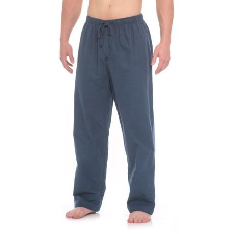 Aegean Apparel Flannel Lounge Pants (For Men) in Dark Denim