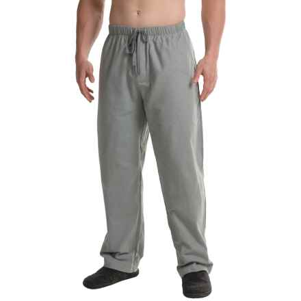 Aegean Apparel Flannel Lounge Pants (For Men) in Neutral Grey - Closeouts