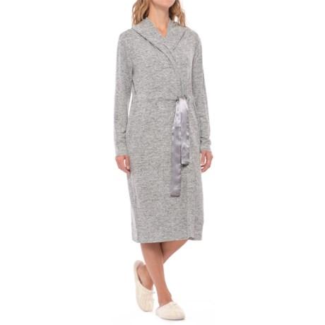 Aegean Apparel Weekend Fleece Robe - Long Sleeve (For Women)