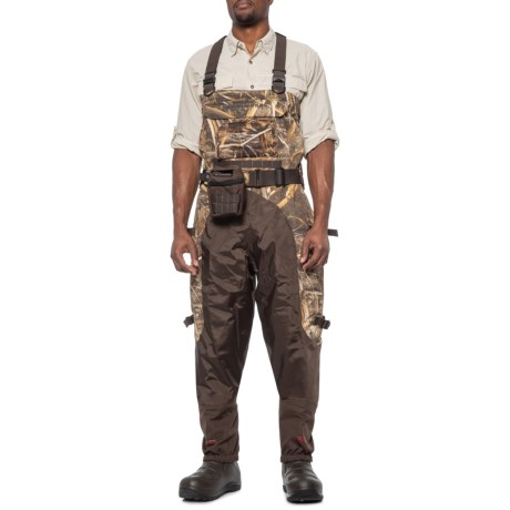 Aero Elite Breathable 7.0mm Bootfoot Waders - Waterproof, Insulated (For Men) - REALTREE MAX-5 (12 ) thumbnail
