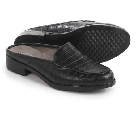Aerosoles Best Wishes Shoes - Vegan Leather, Slip-Ons (For Women) in Black Croco - Closeouts