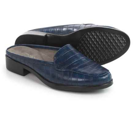 Aerosoles Best Wishes Shoes - Vegan Leather, Slip-Ons (For Women) in Blue Croco - Closeouts