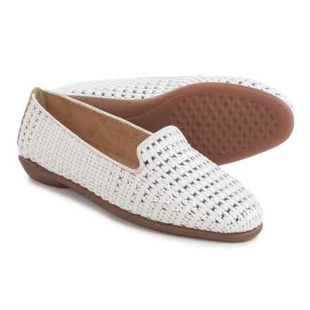 Aerosoles Betunia Flats - Vegan Leather (For Women) in White - Closeouts