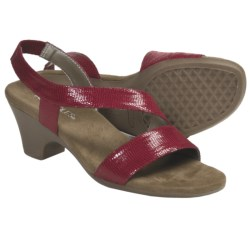 Aerosoles Brasserie Sandals - Ankle Strap (For Women) in Tan Lizard
