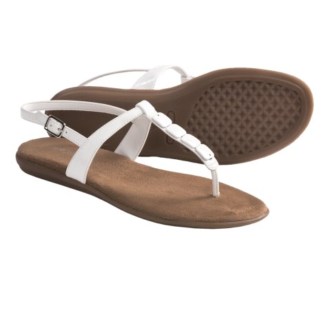 Aerosoles Chlocktower Thong Sandals (For Women) in Silver