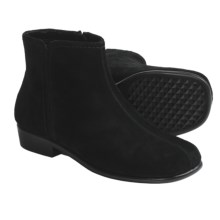 Aerosoles Duble Trouble Ankle Boots - Suede (For Women) in Black Suede - Closeouts
