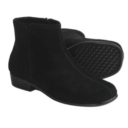 Aerosoles Duble Trouble Ankle Boots - Suede (For Women) in Black Suede
