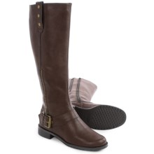Aerosoles Easy Rider Riding Boots (For Women) in Brown - Closeouts