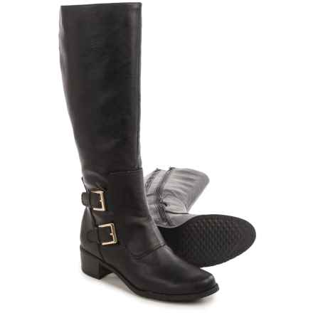 Aerosoles Ever After Tall Boots - Vegan Leather (For Women) in Black - Closeouts