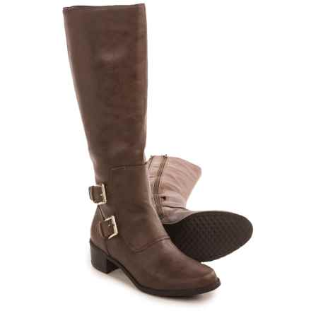 Aerosoles Ever After Tall Boots - Vegan Leather (For Women) in Brown - Closeouts
