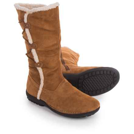 Aerosoles High Gear Boots - Suede (For Women) in Dark Tan Suede - Closeouts
