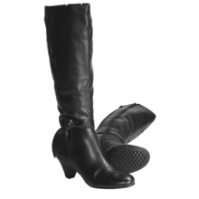 Aerosoles Infamous Tall Boots - Extended Calf (For Women) in Black - Closeouts