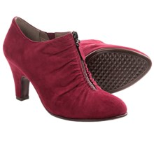 Aerosoles Jalapeno Zip Ankle Boots (For Women) in Wine Fabric - Closeouts