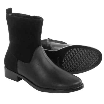 Aerosoles Make a Wish Boots - Leather (For Women) in Black Combo - Closeouts