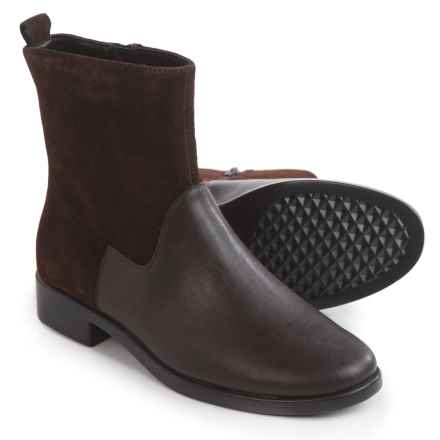 Aerosoles Make a Wish Boots - Leather (For Women) in Dark Brown - Closeouts