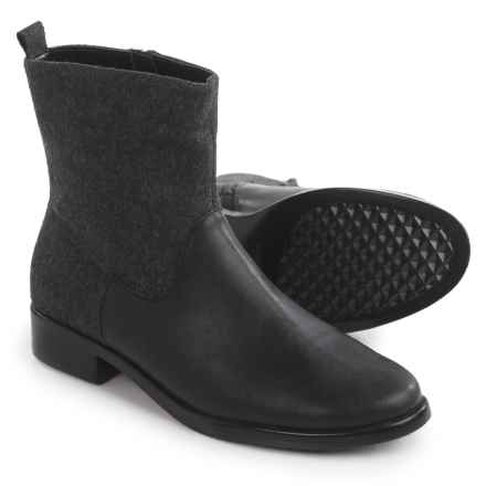 Aerosoles Make a Wish Boots - Leather (For Women) in Grey Wool - Closeouts