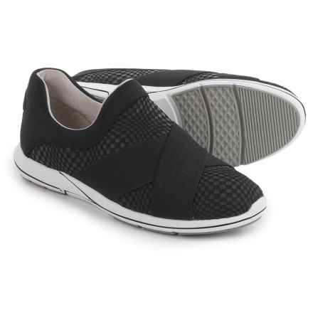 Aerosoles Race Track Shoes - Slip-Ons (For Women) in Black - Closeouts