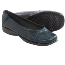 Aerosoles Richmond Shoes - Slip-Ons, Vegan Leather (For Women) in Blue Snake - Closeouts
