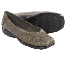 Aerosoles Richmond Shoes - Slip-Ons, Vegan Leather (For Women) in Grey Snake - Closeouts