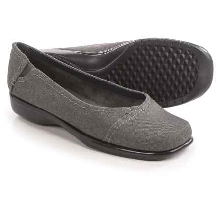 Aerosoles Richmond Shoes - Slip-Ons, Vegan Leather (For Women) in Grey Wool - Closeouts