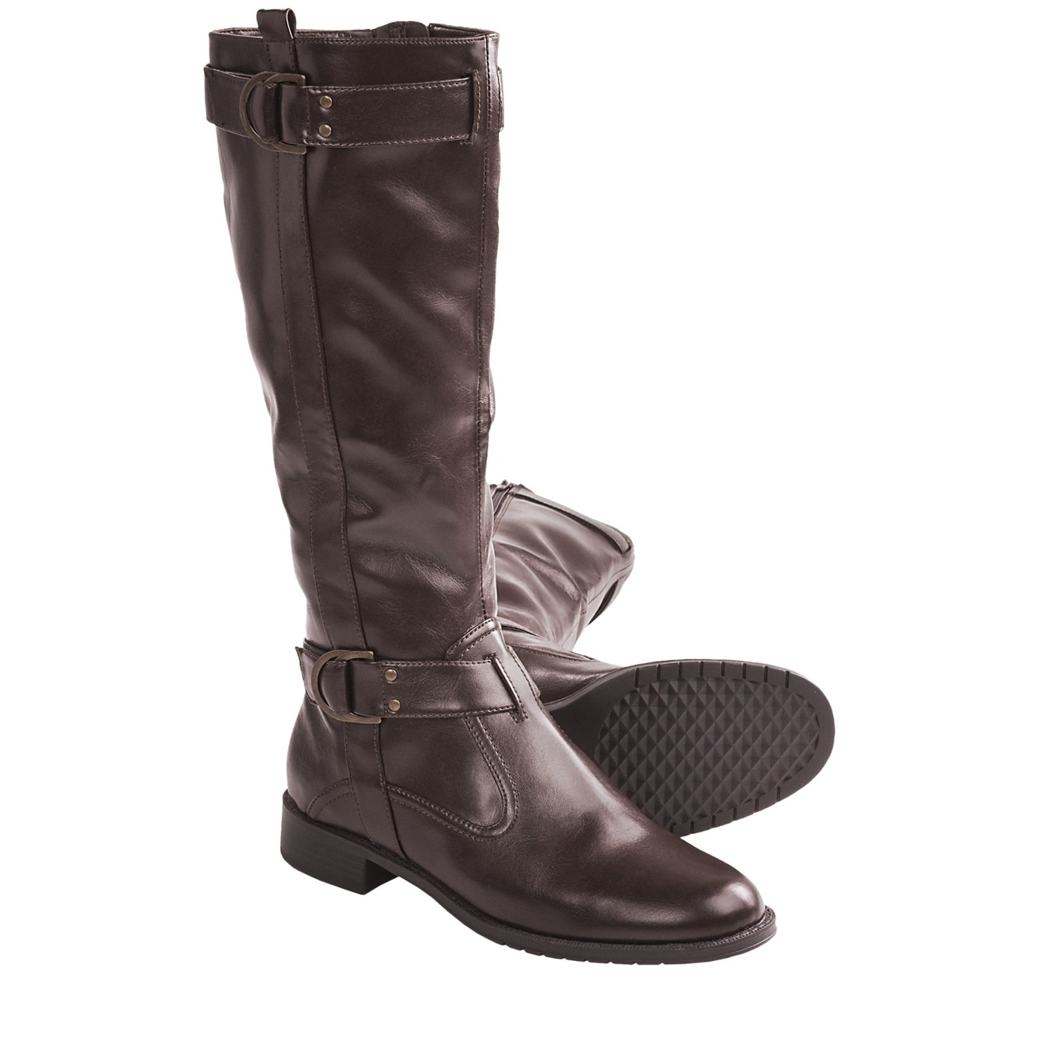 aerosoles ride line boots faux leather for