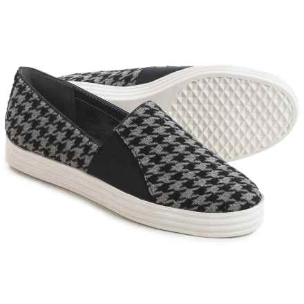 Aerosoles Sea Salt Shoes - Slip-Ons (For Women) in Black Houndstooth - Closeouts