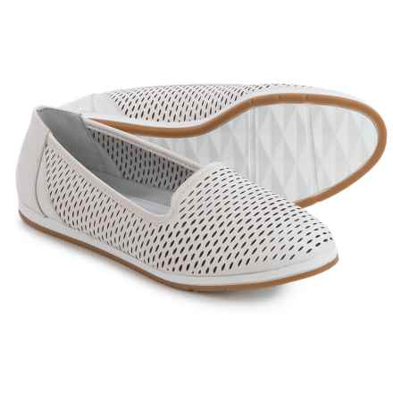 Aerosoles Smart Move Shoes - Nubuck (For Women) in White Leather - Closeouts