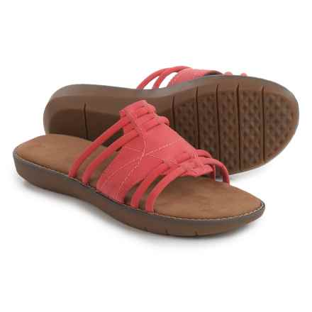 Aerosoles Super Cool Sandals - Vegan Leather (For Women) in Coral - Closeouts
