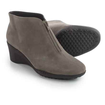 Aerosoles Torista Wedge Ankle Boots - Nubuck (For Women) in Ash Nubuck - Closeouts