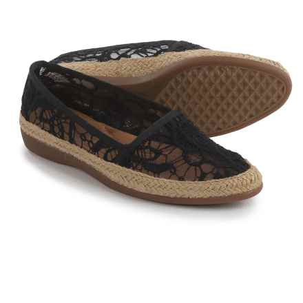 Aerosoles Trend Report Espadrilles (For Women) in Black - Closeouts