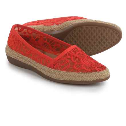 Aerosoles Trend Report Espadrilles (For Women) in Coral - Closeouts