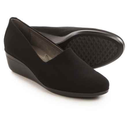 Aerosoles True Story Wedge Shoes (For Women) in Black - Closeouts