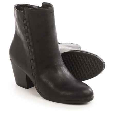 Aerosoles Vitality Ankle Boots - Vegan Leather (For Women) in Black - Closeouts