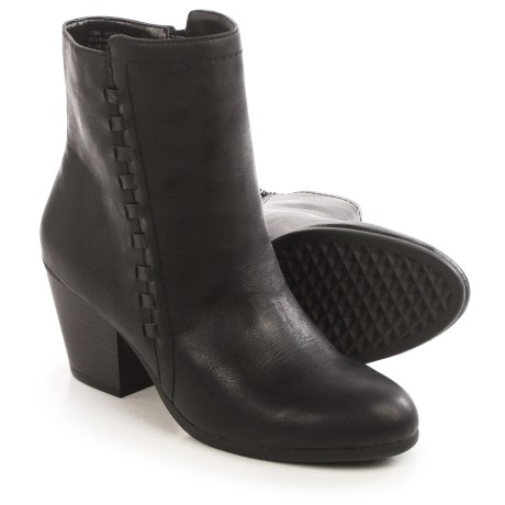 Aerosoles Vitality Ankle Boots - Vegan Leather (For Women) in Black
