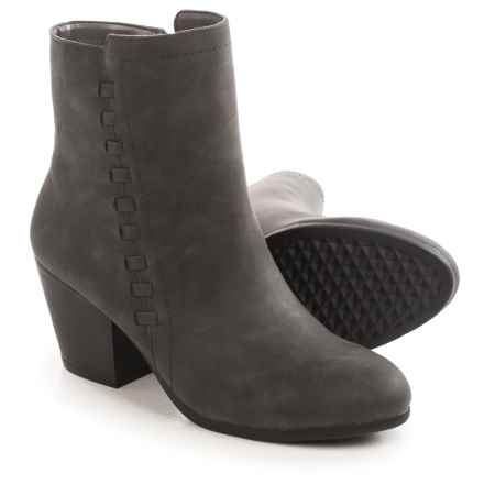 Aerosoles Vitality Ankle Boots - Vegan Leather (For Women) in Dark Grey - Closeouts