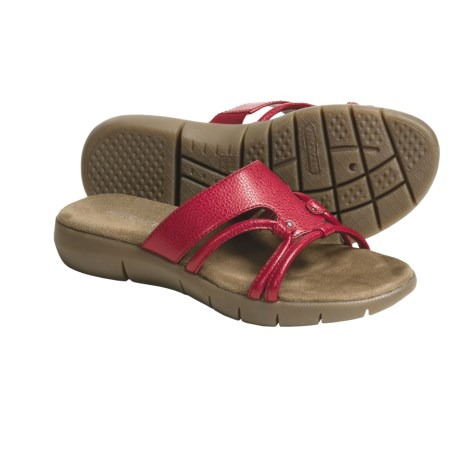 Aerosoles Wip Stitch Slide Sandals (For Women) in Venom