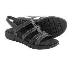 Aerosoles Wipple Threat Sandals - Vegan Leather (For Women) in Black - Closeouts