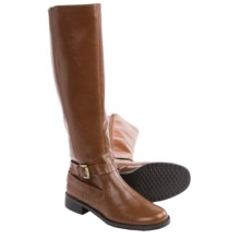 Aerosoles With Pride Riding Boots - Faux Leather (For Women) in Tan - Closeouts