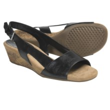 Aerosoles Yet Alone Sling-Back Sandals (For Women) in Black Combo - Closeouts
