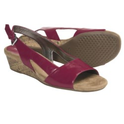 Aerosoles Yet Alone Sling-Back Sandals (For Women) in Dark Pink Combo