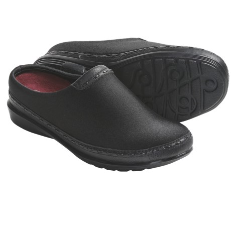 Aetrex Berries Open-Back Clogs (For Women) in Blackberry