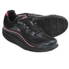 Aetrex Bodyworks Sport Shoes (For Women) in Black/Coral - Closeouts