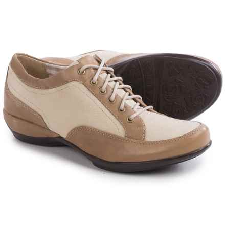 Aetrex Lauren Oxford Shoes - Lace-Ups (For Women) in Taupe - Closeouts