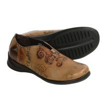 Aetrex Maggie Shoes - Slip-Ons (For Women) in Tan - Closeouts