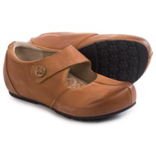 Aetrex Monica Mary Jane Shoes - Leather (For Women) in Cognac - Closeouts